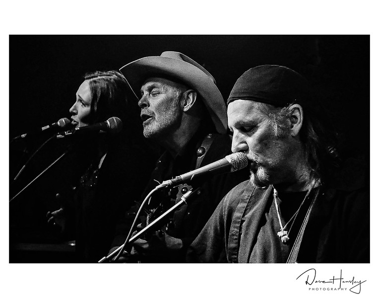 From the 2013 Big Barndance, Jennifer Peterson, Michael Hearne, and Jimmy LaFave.