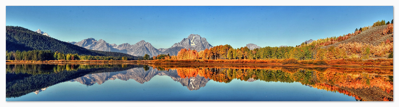 Oxbow Bend Panorama