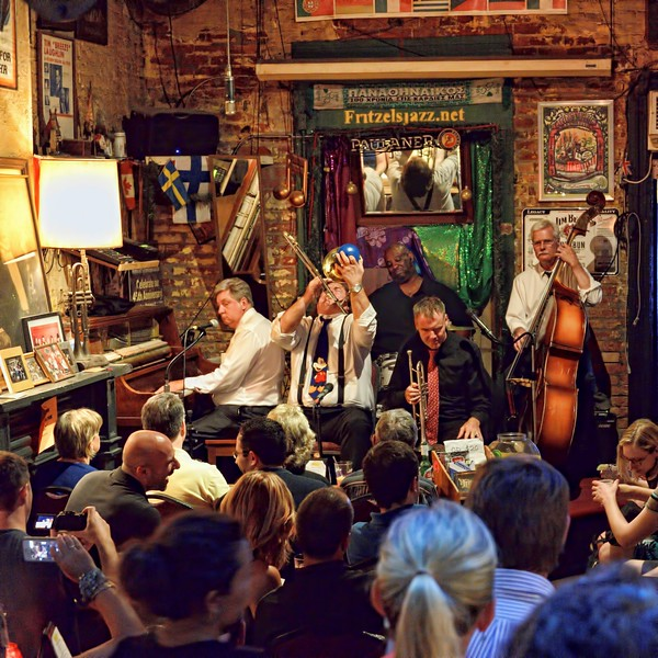Dixieland jazz at Fritzel's on Bourbon Street