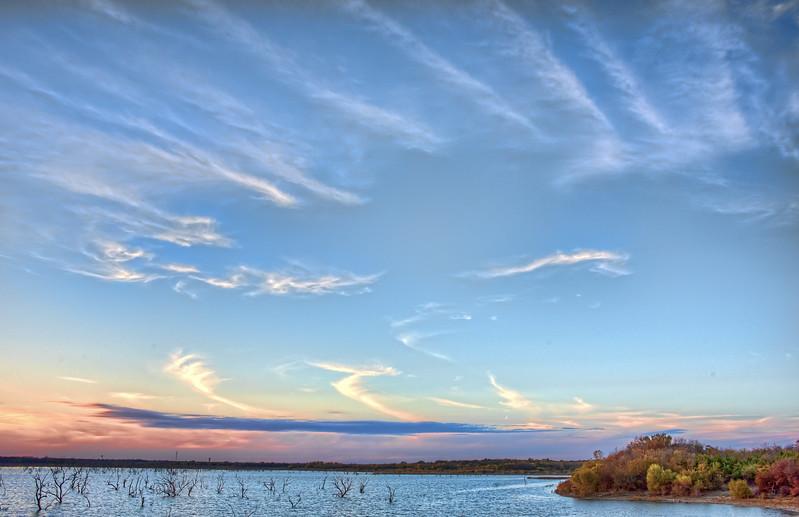 Sunset on Lake Lavon