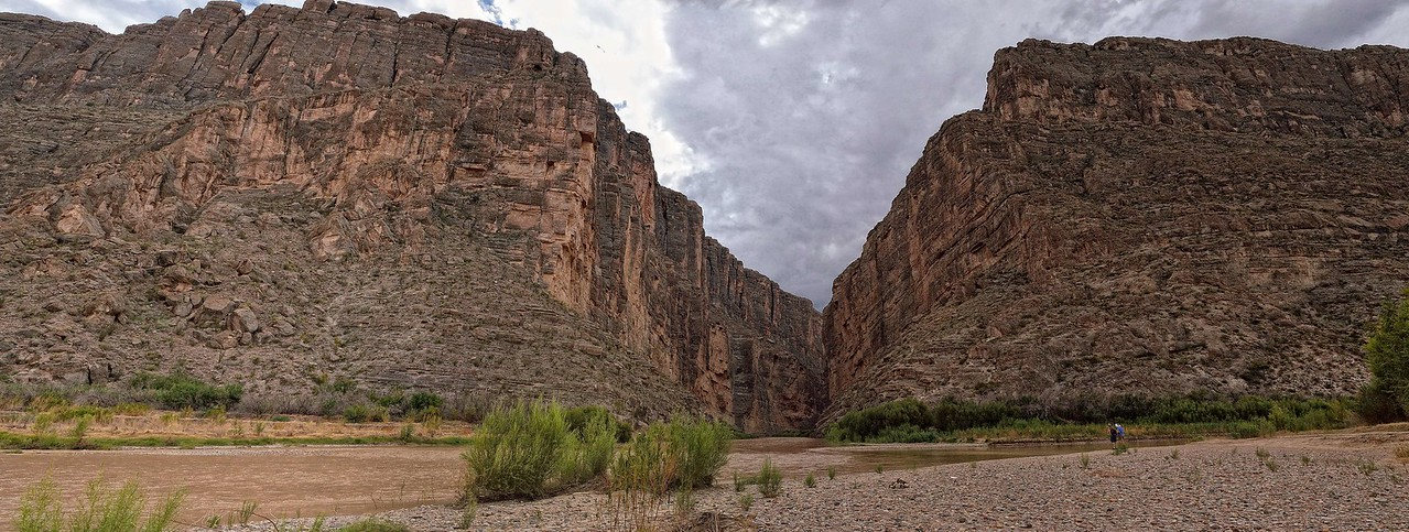 Santa Elena Canyon panorama, Big Bend National Park