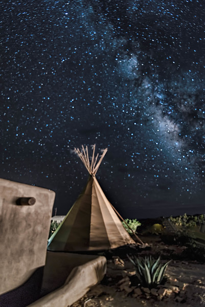 Milky Way, Terlingua