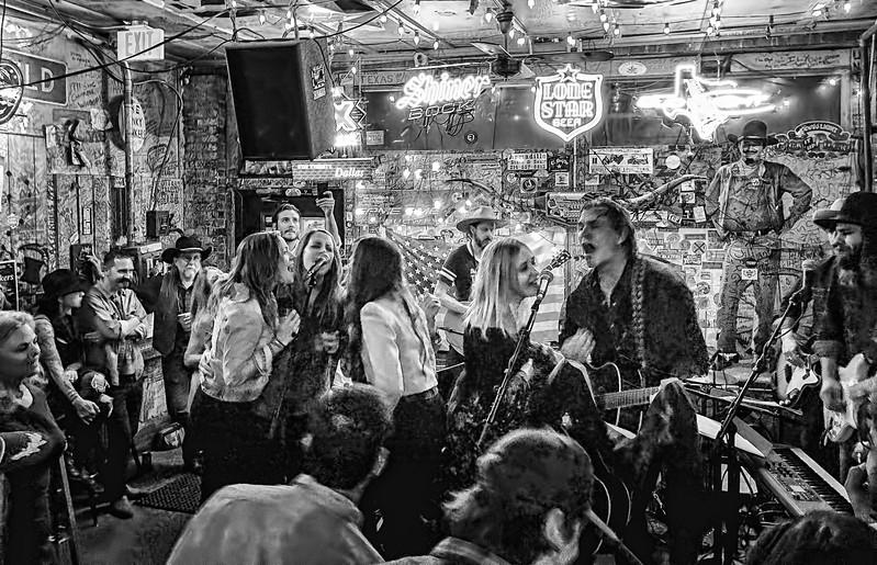 The Trishas and Jack Ingram at Adair's Saloon, Dallas
