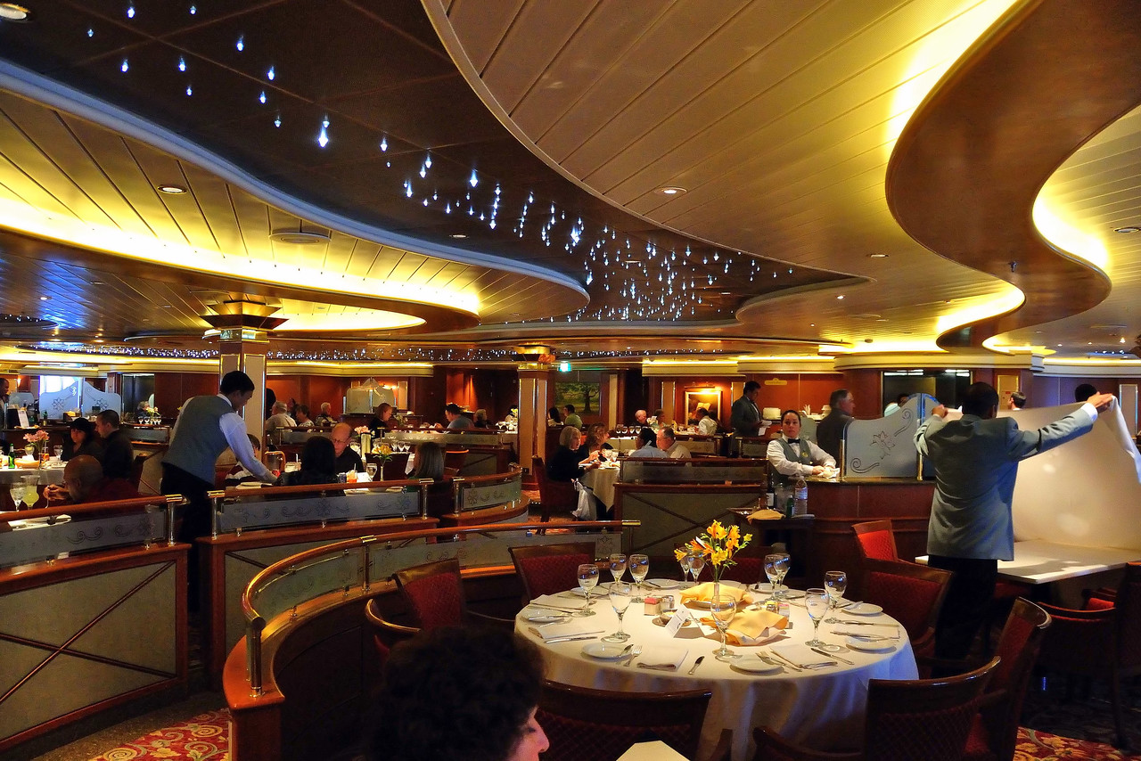 Bordeaux Dining Room on the Island Princess
