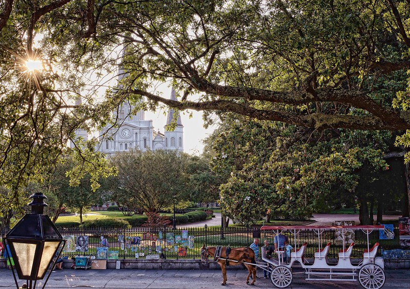 """Life is hard, and life ain't fair, but life goes on in Jackson Square""  -- Drew Kennedy"