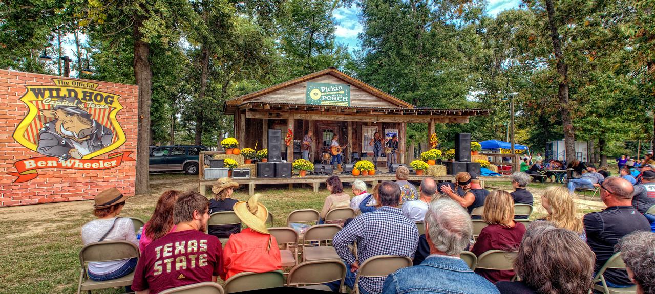 The Feral Hog Festival in Ben Wheeler, Texas