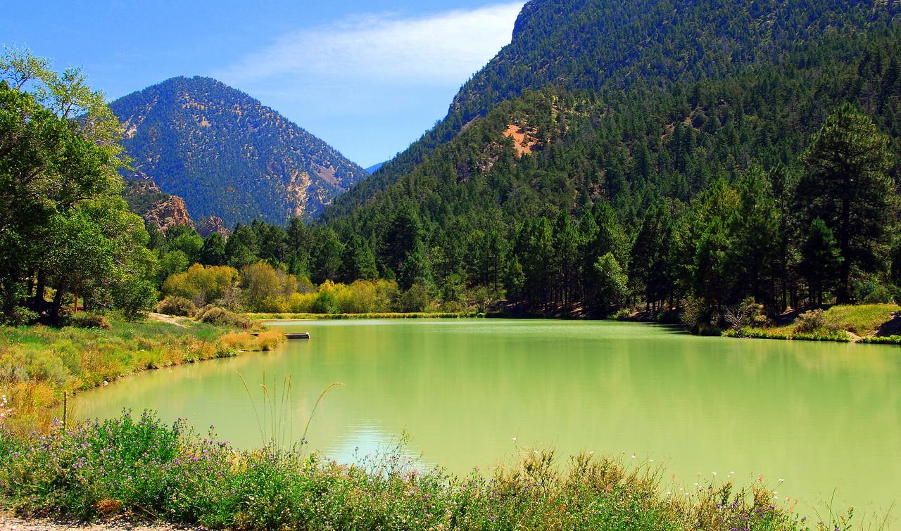 Mountain fishing hole