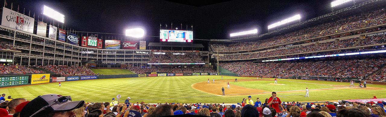 Texas Ranger Ballpark in Arlington