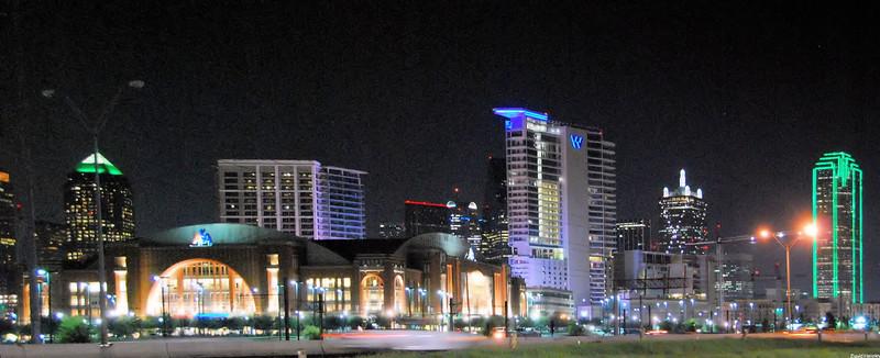 Dallas Skyline - AA Center