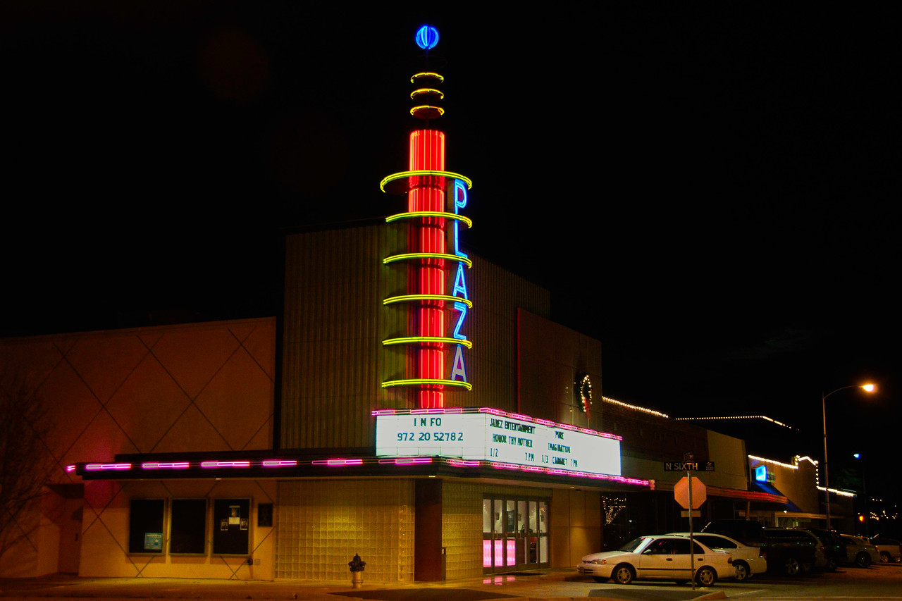 The Plaza Theatre, Garland, TX