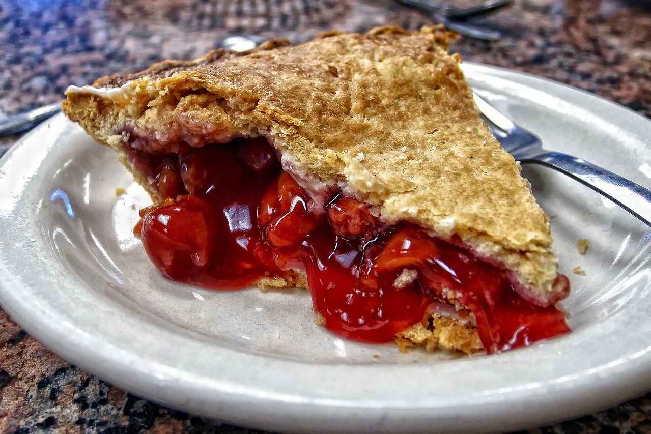 Cherry Pie from the Bluebonnet Cafe