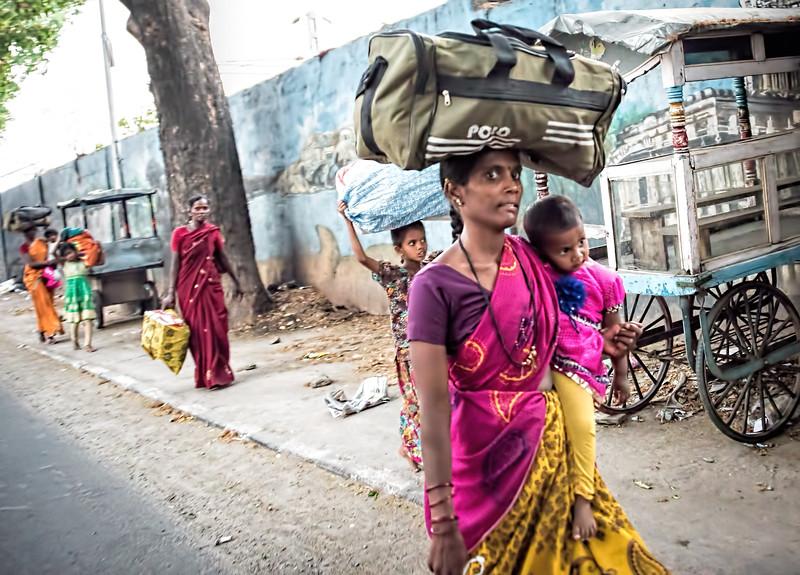 Bengalaru street scene