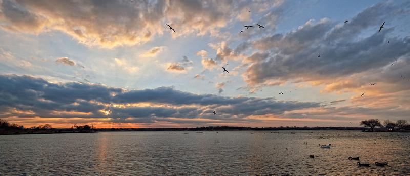 Sunset on White Rock Lake
