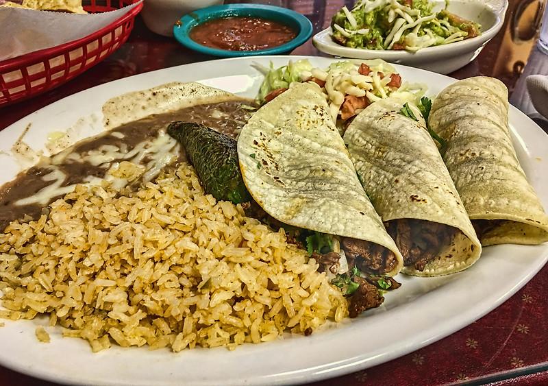 Tacos a la Mexicana from Ernesto's, Garland TX