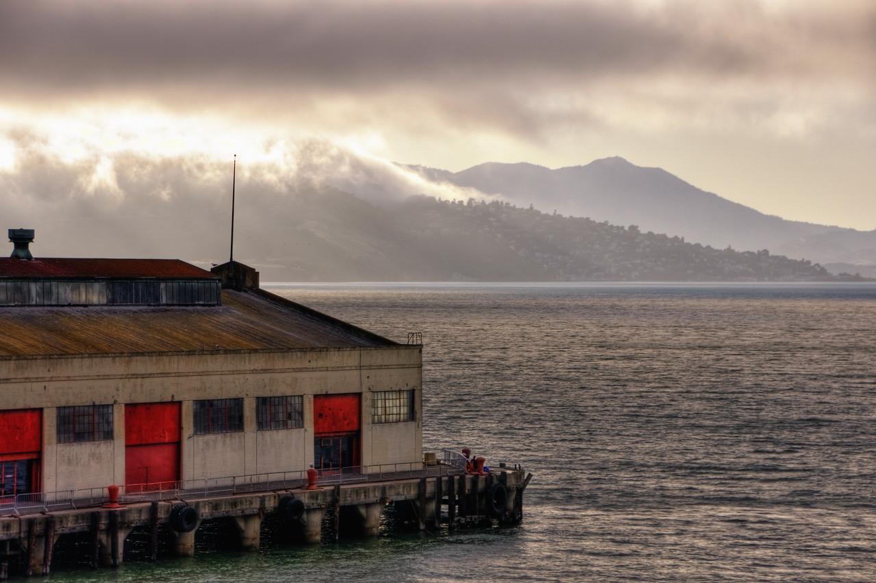 San Francisco Bay from Fort Mason