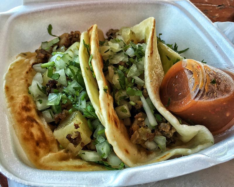 A taco truck on every corner - Best. Idea. Ever!