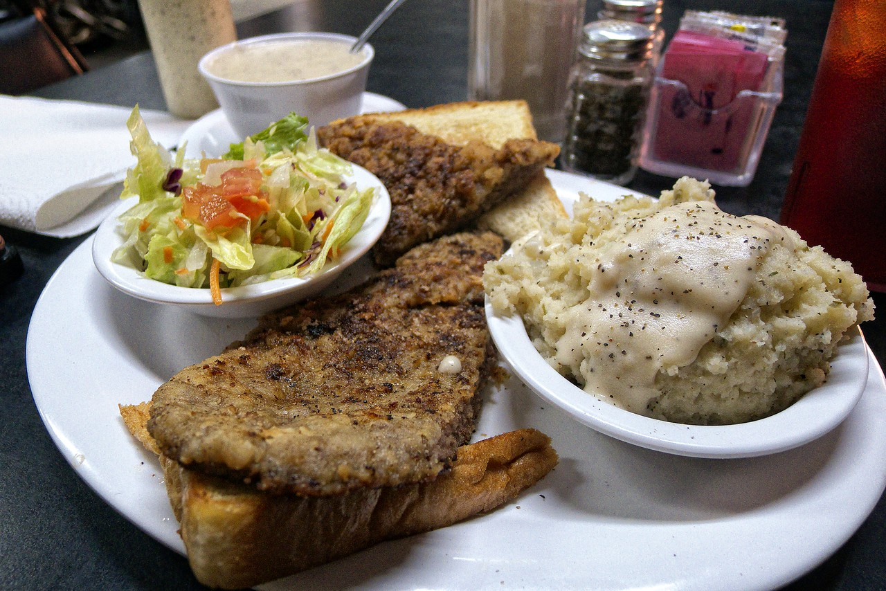 Voted best chicken fried steak in Texas by Texas Country Reporter
