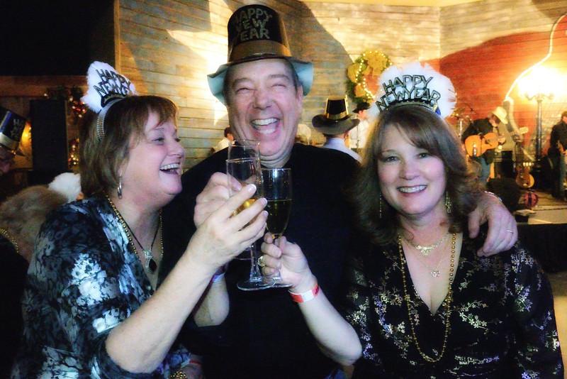 Rhonda, Kurt, Paula (Kurt wasn't having much fun)