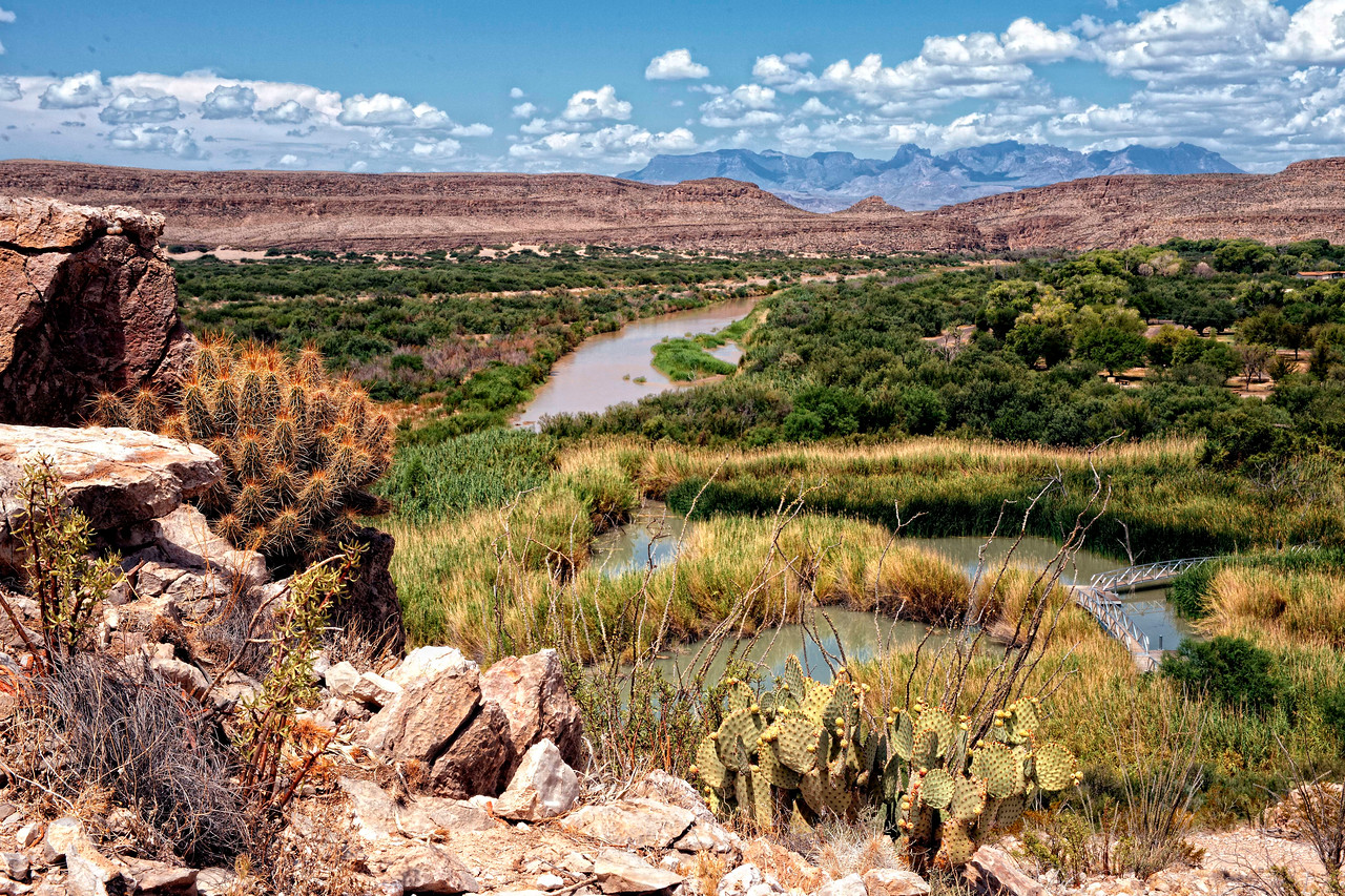 Rio Grande Village Overlook, Big Bend National Park