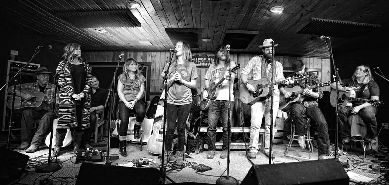 Mike Addington, Courtney Patton, Jason Eady, Brandy Zdan, Kelley Mickwee, Walt Wilkins, Drew Kennedy, Josh Grider, Susan Gibson