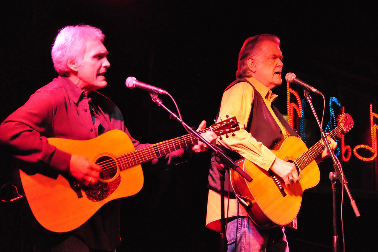 Verlon Thompson and Guy Clark