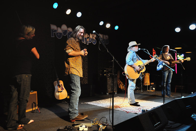 Marian Brackney, Walt Wilkins, Tommy Alverson, Bill Small