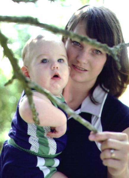 Rhonda and Chris outdoors at farm 2