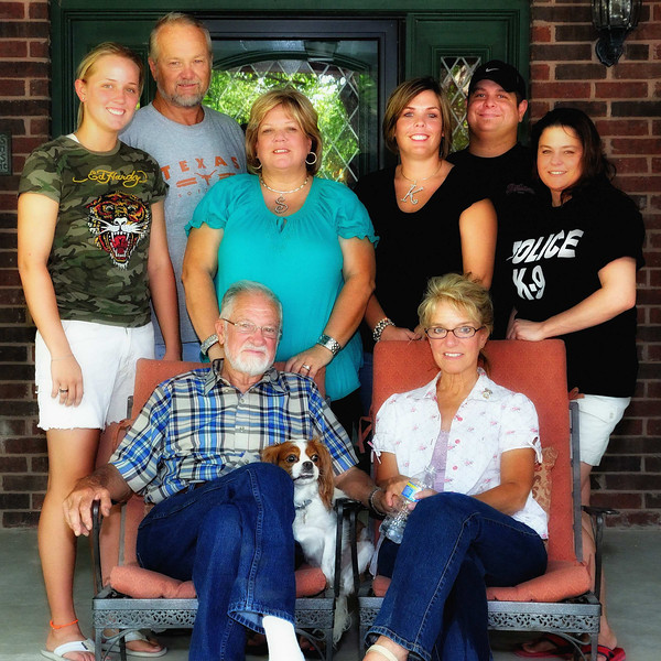 Amy, Ricky, Sandi, Kristi, Jason, Terri, Jim and Michelle
