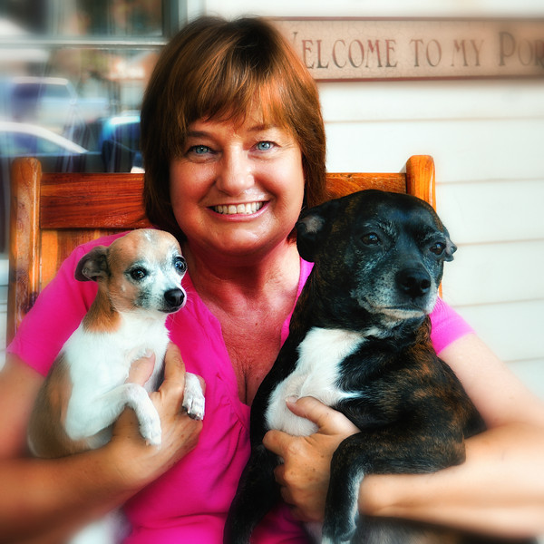 Rhonda, Pita and Roxie