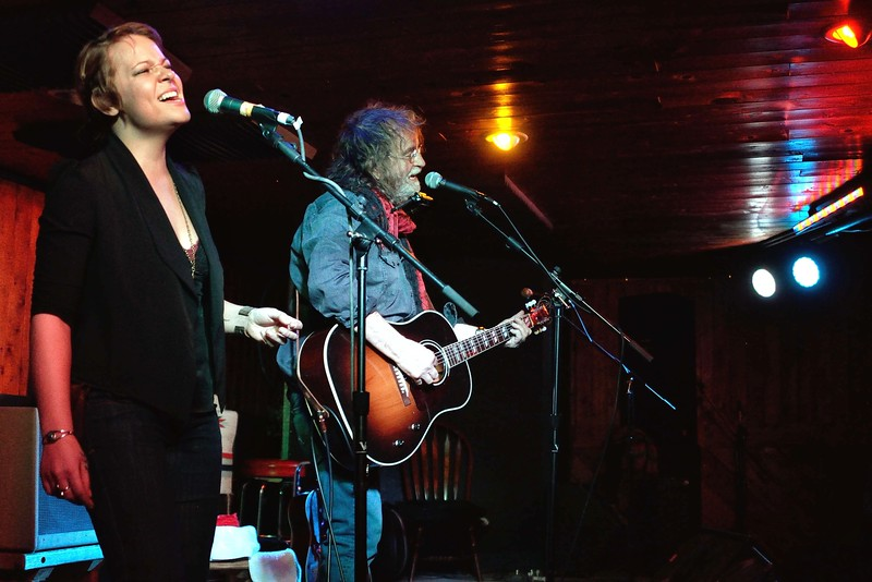 Brandy Zdan and Ray Wylie Hubbard