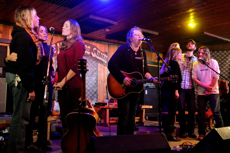 Ray Wylie Hubbard with the Red River Songwriters