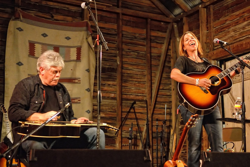 Lloyd Maines and Terri Hendrix