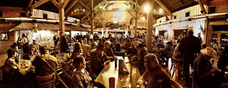 The Rio Brazos Music Hall restaurant area