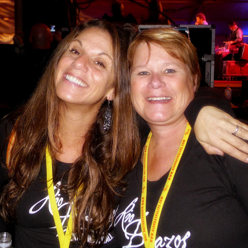 Holli and Joni, on staff at Rio Brazos