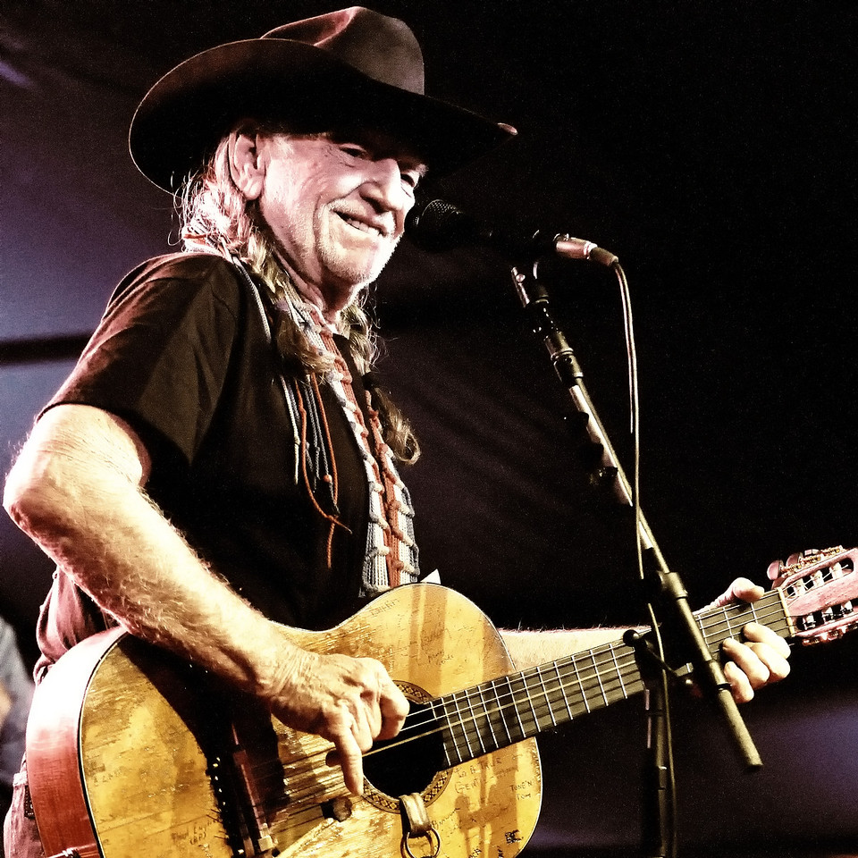 Willie Nelson, a living legend