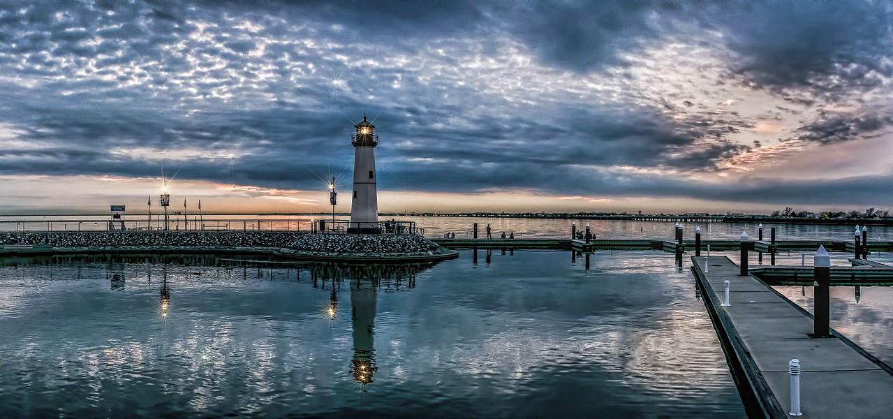 Rockwall Harbor Sunset