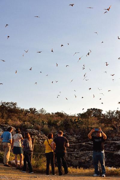 Frio Bat Cave near Concan, TX
