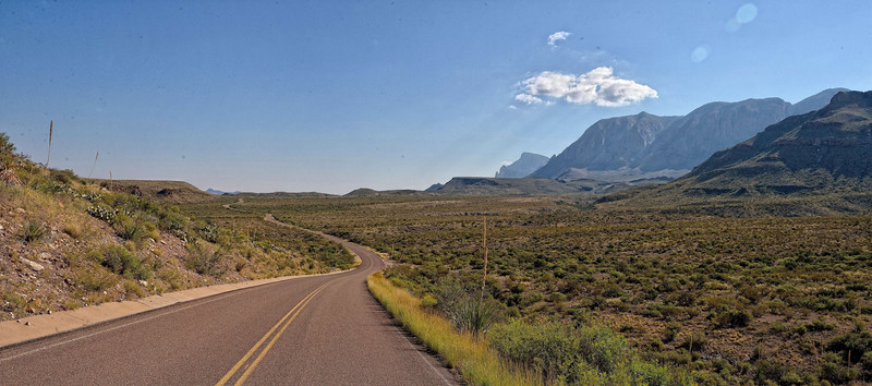 Ross Maxwell Scenic Drive, Big Bend NP