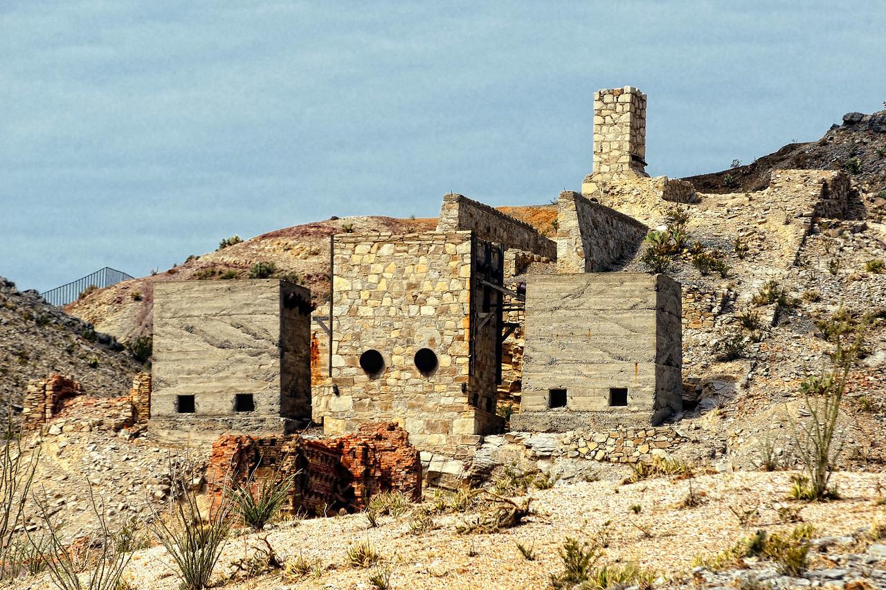 Mariscal mine ruins
