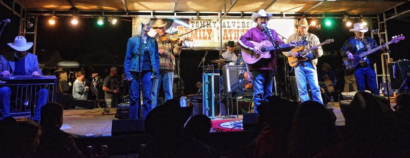 Johnny Bush and band