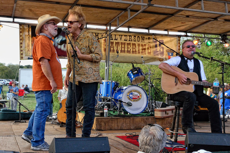 Tommy Alverson, Bob Livingston, Brian Burns