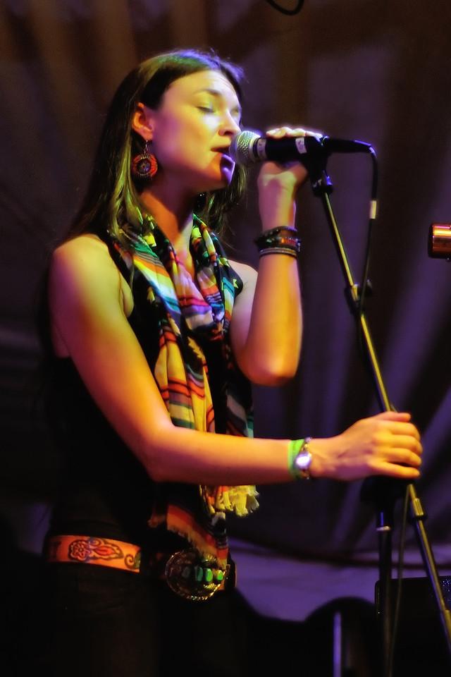 Liz Foster of the Trishas
