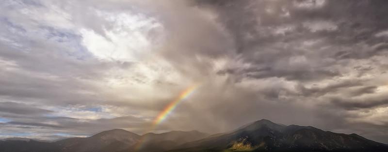 Rainbow over the Sangre de Cristos