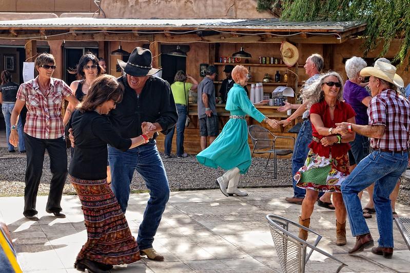 The Taos dancers