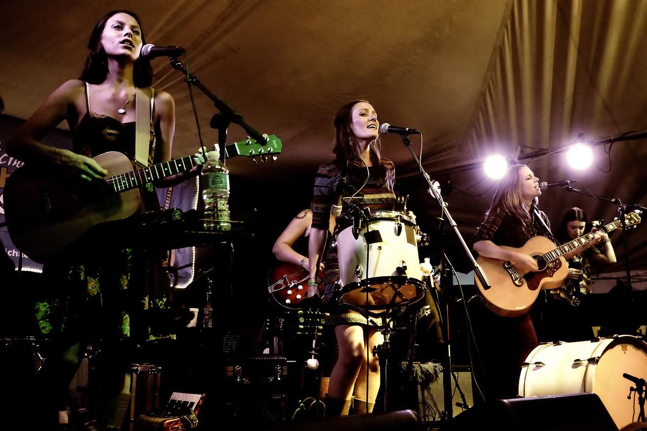 Savannah Welch, Kelley Mickwee, Jamie Wilson