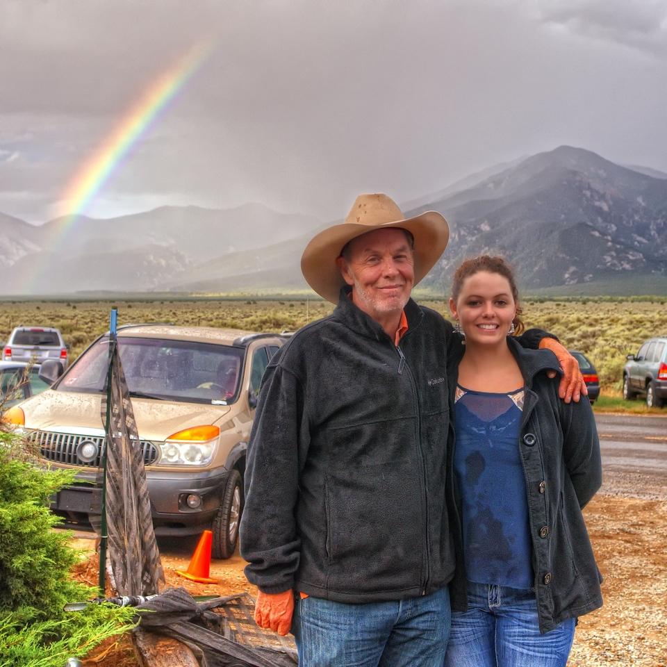 Michael Hearne and his daughter Sarah