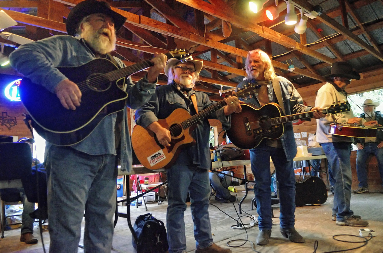 Terry Rasor, Tommy Alverson, Amos Staggs, Ray Austin
