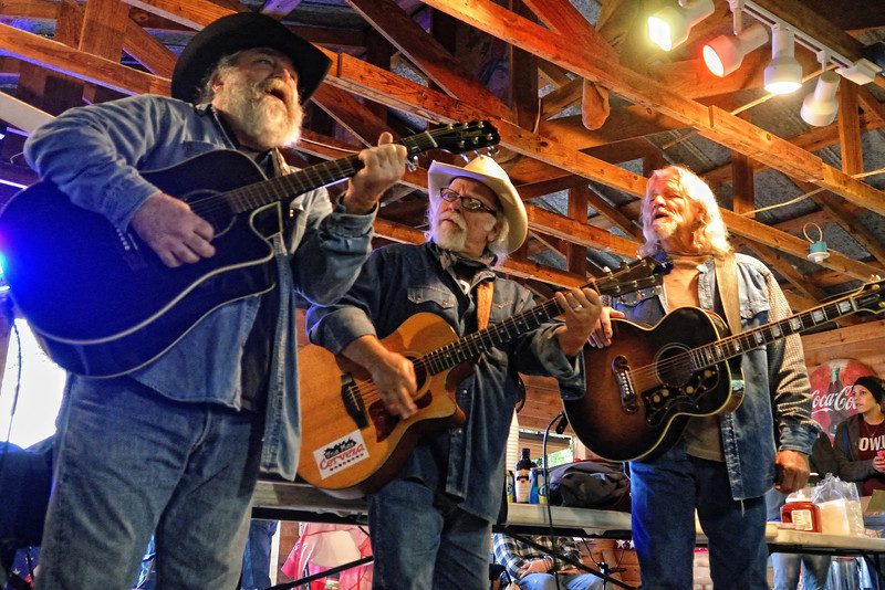 Terry Rasor, Tommy Alverson, Amos Staggs