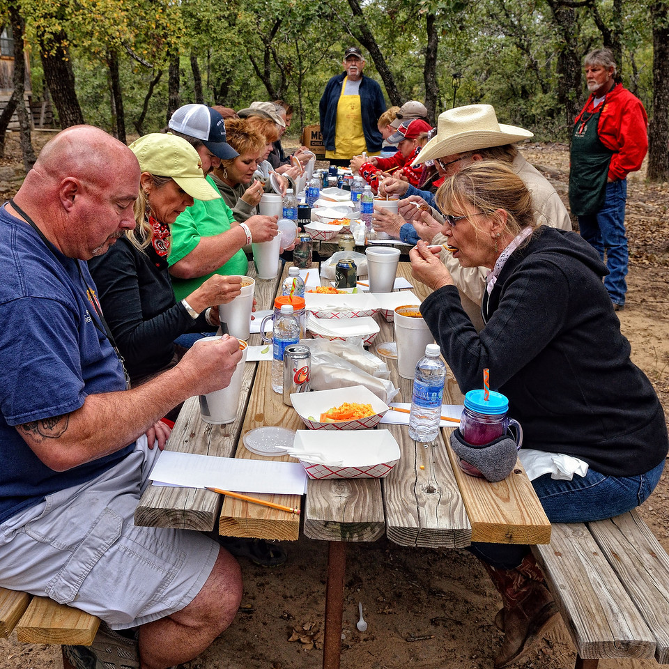 Chili cookoff judging