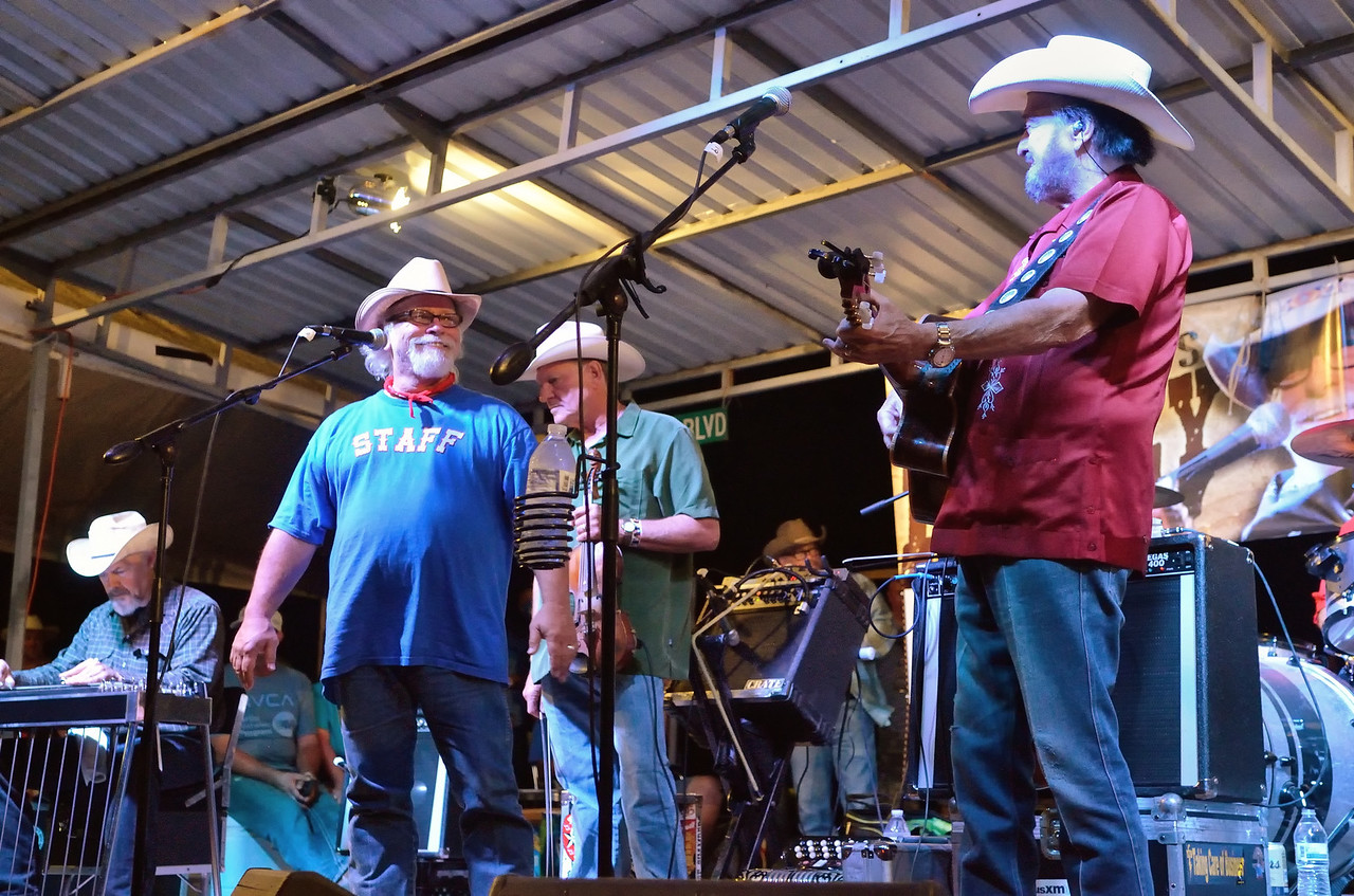 Tommy Alverson and Johnny Bush
